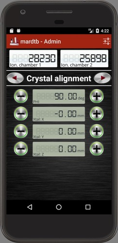 mardtb: Crystal alignment